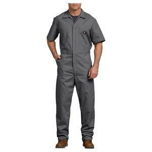 Dickies Mens Short Sleeve Coveralls Work Uniform